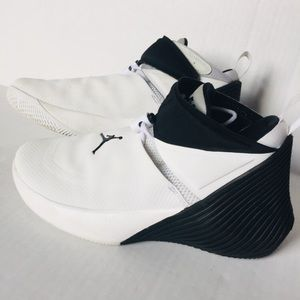 Jordan Westbrook Black White Why Not? Sneakers 7Y